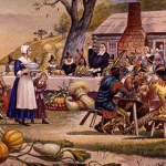 It's a little-known fact that the Pilgrims also had a trampling event on Thanksgiving during the Great Corn-Patch Doll Riot.
