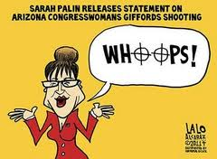 Sarah Palin's whoops moment