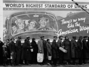 The Great Depression was a wake up call about the realities of capitalism and its shortcomings.
