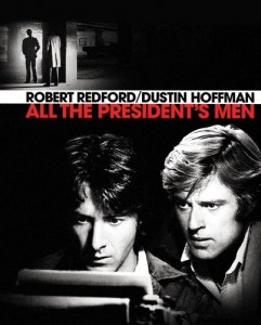 A great movie about 2 guys that took down the most powerful man on the planet.