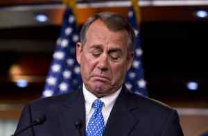 John Boehner - speaker of the house crying again