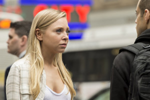"MR. ROBOT -- ""wh1ter0se.m4v"" Episode 108 -- Pictured: (l-r) Portia Doubleday as Angela Moss -- (Photo by: David Giesbrecht/USA Network)"